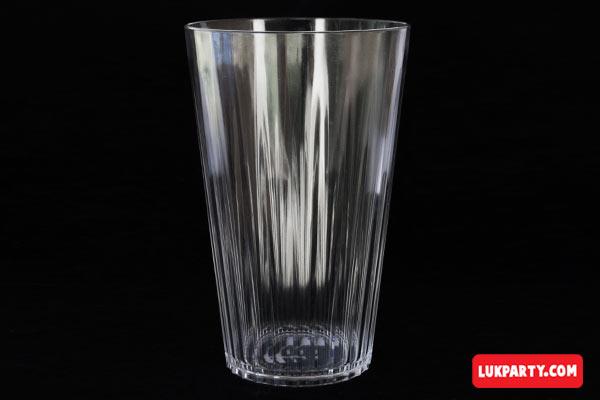 Vaso Descartable Gastronómico plástico rígido 500ml cristal
