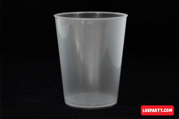 Vaso Descartable plástico 250ml translúcido