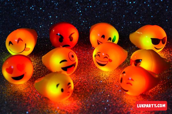 Anillo luminoso Emojis